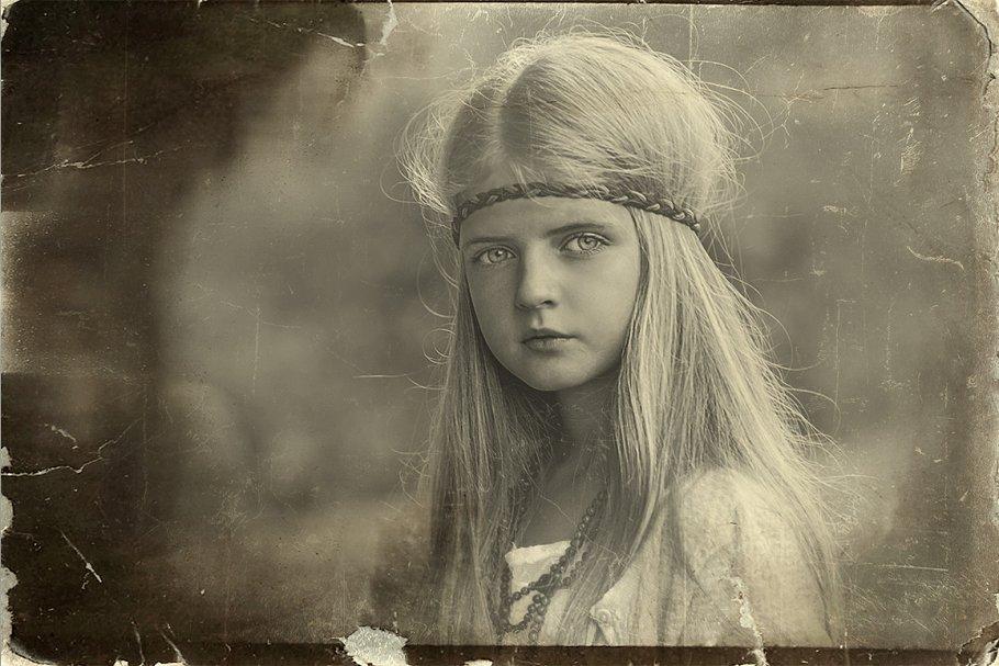 Vintage Old Photo Effect Overlays - vintage old photo effect 1