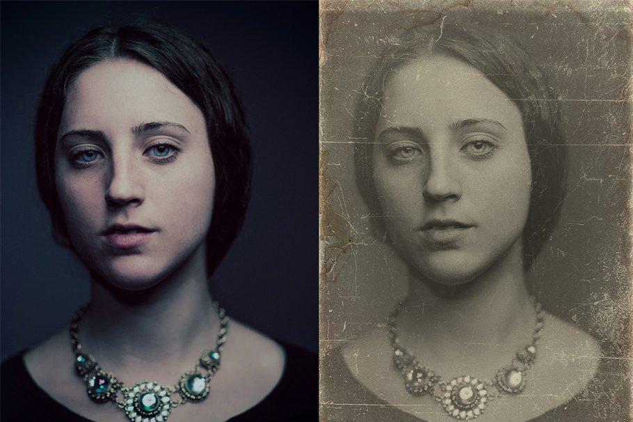 Vintage Old Photo Effect Overlays - vintage old photo effect 6