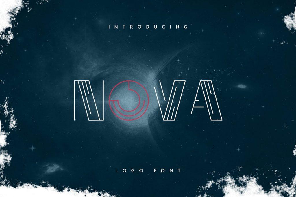 Nova - Champion Logo Font