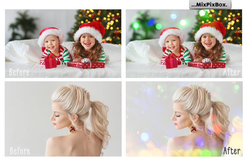 100 Colorful Bokeh Background Photo Overlays - 1 9 1024x681