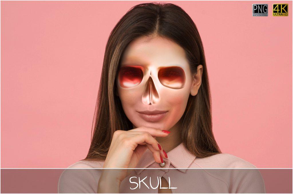 Metallic Skull Effect Halloween Bundle - 1 main 2 1024x681