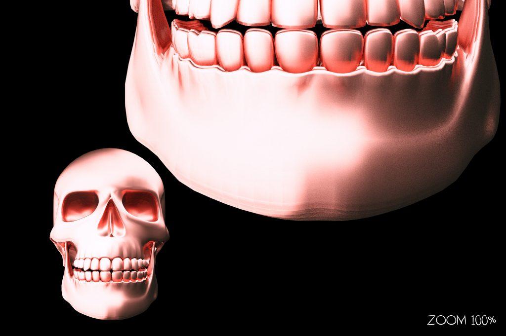 Metallic Skull Effect Halloween Bundle - 1 zoom 2 1024x681