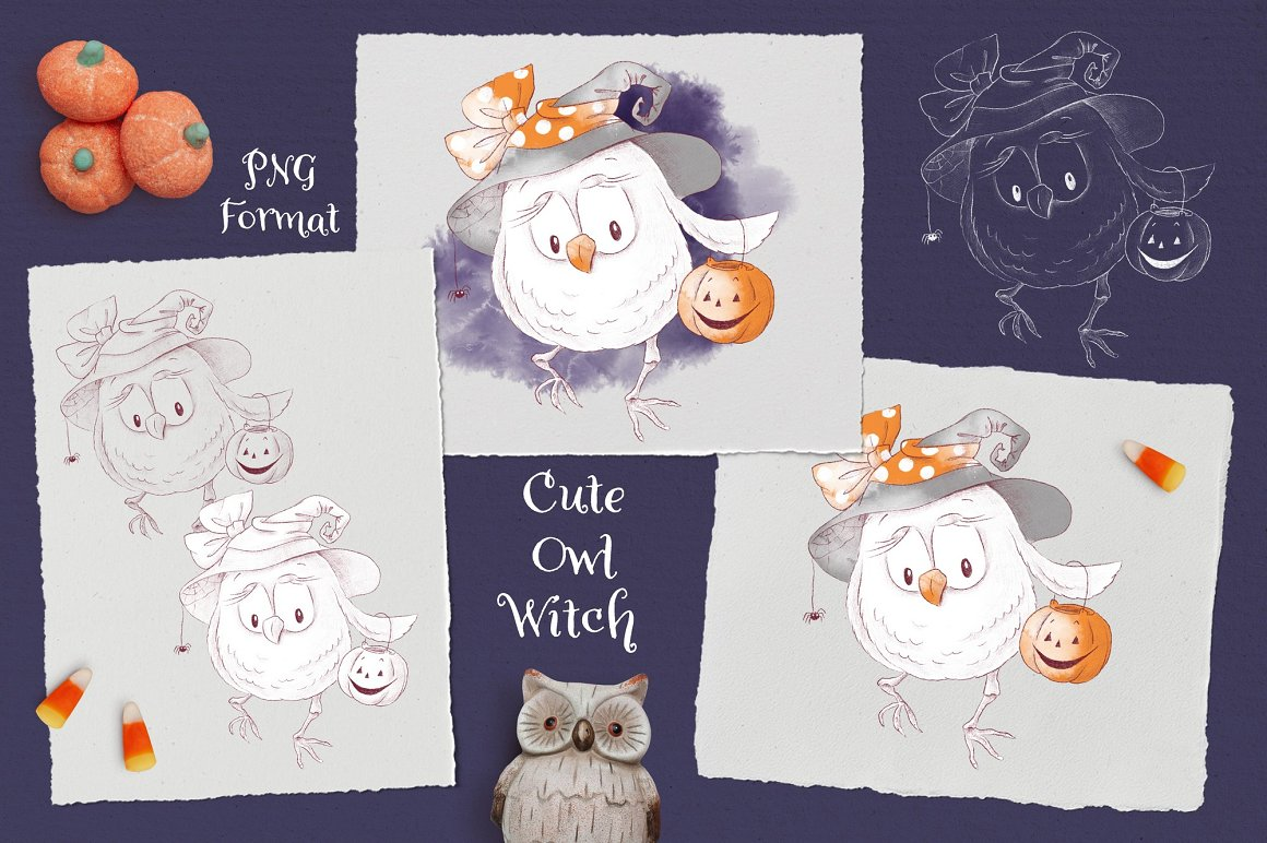 Trick or Treat Clipart: 183 Halloween Clipart PNG - 13