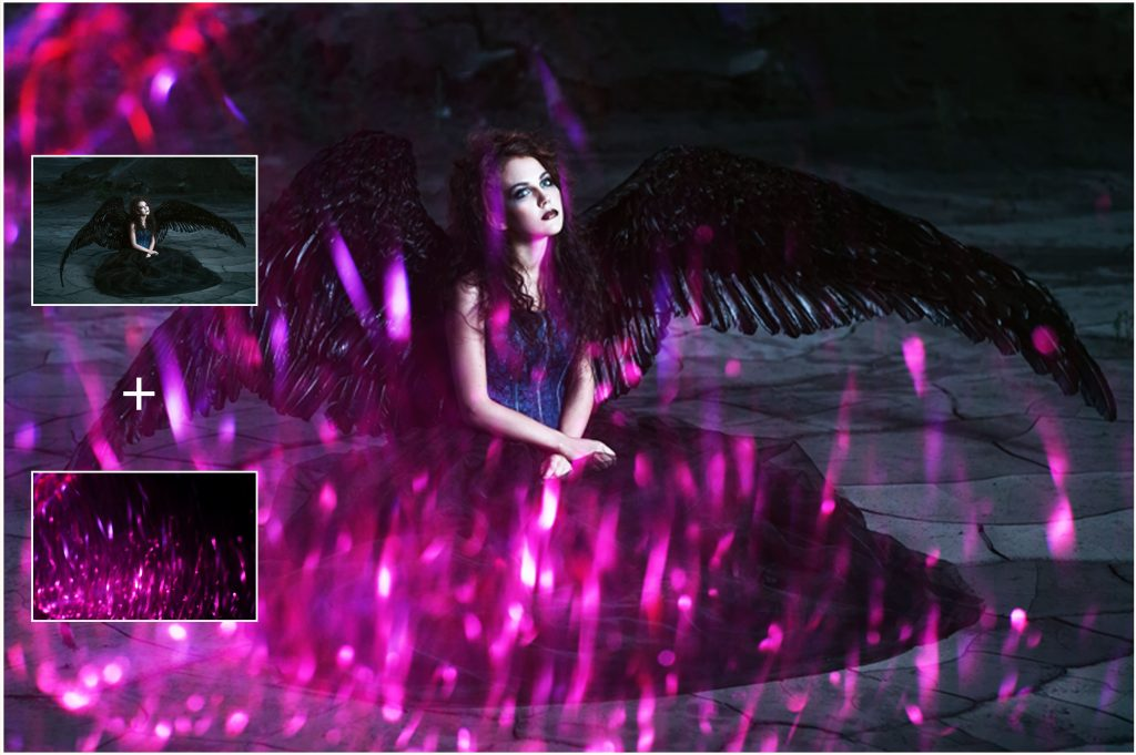 Halloween Overlays Bundle: Dark, Sparkly & Lights Overlays