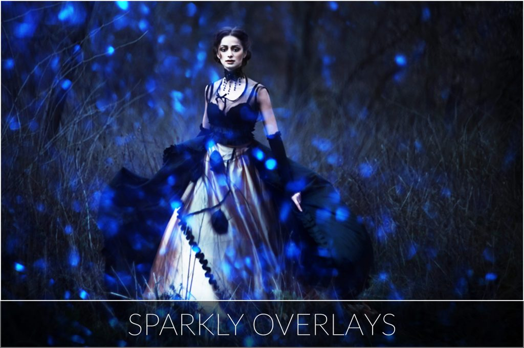 Halloween Overlays Bundle: Dark, Sparkly & Lights Overlays - 15 main 1024x681