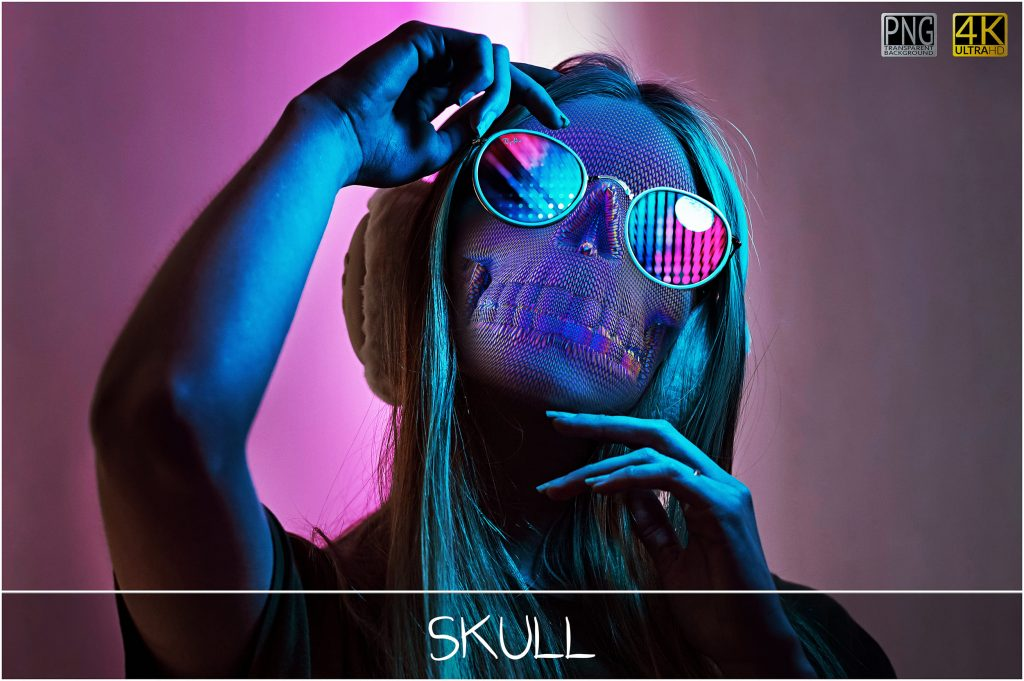 Skull PNG: Skull Textured Effect - 2 main 1 1024x681
