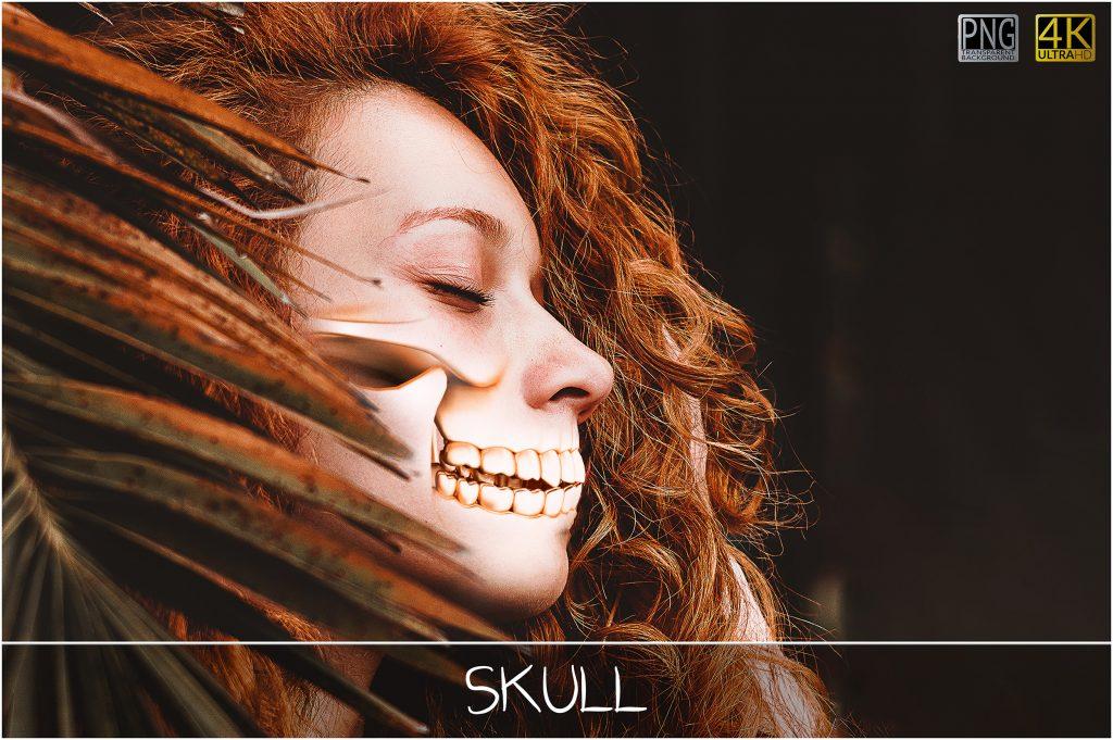 Metallic Skull Effect Halloween Bundle - 2 main 1024x681