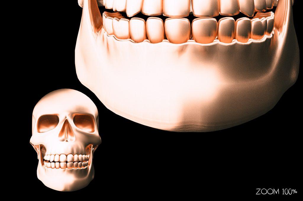 Metallic Skull Effect Halloween Bundle - 2 zoom 1024x681