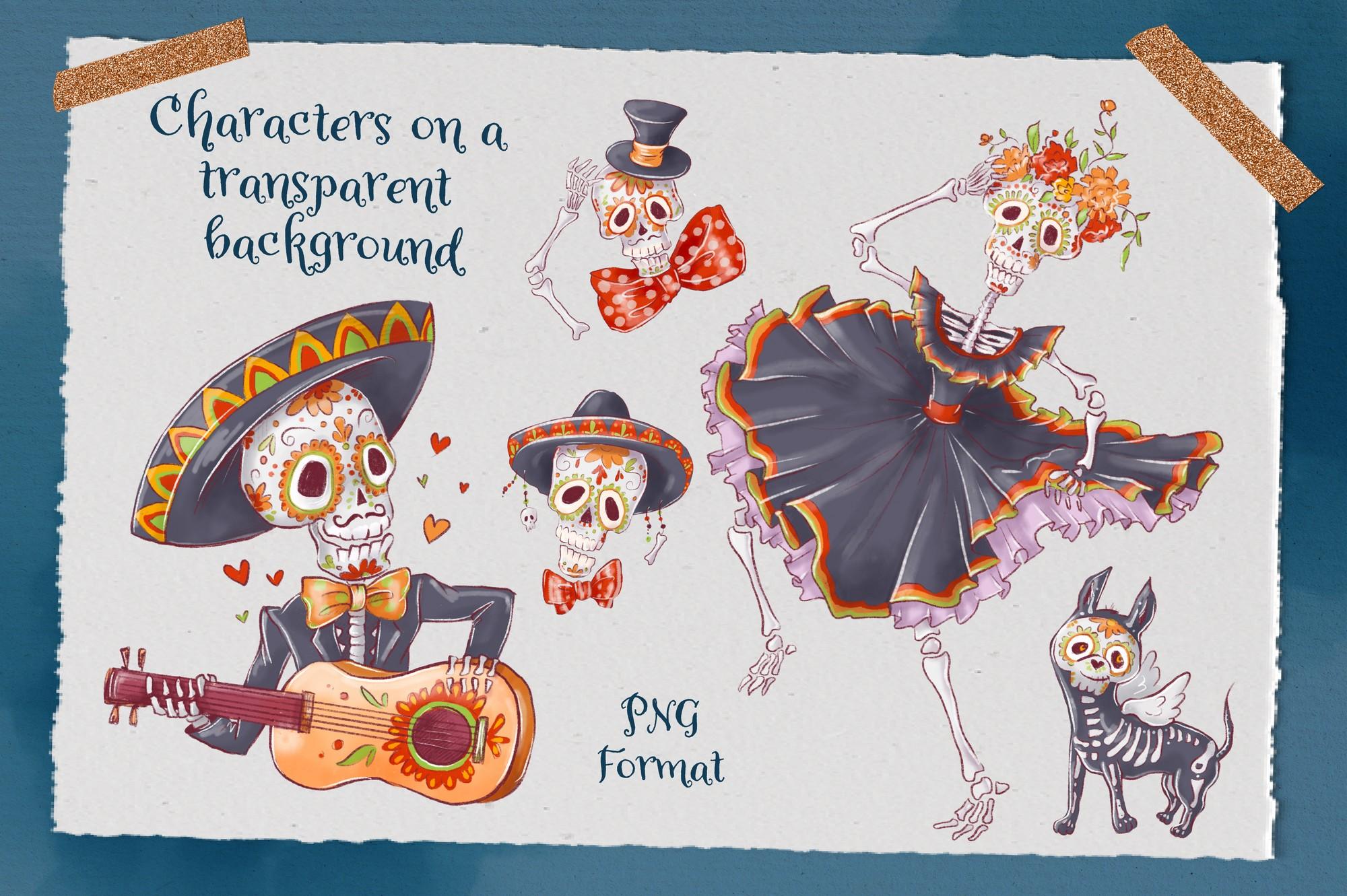 Dia De Los Muertos Clip Art
