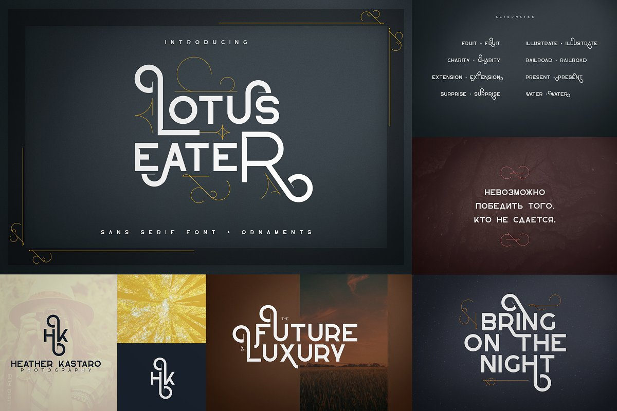 Bestseller Latin Font Collection Vol.02 - 4