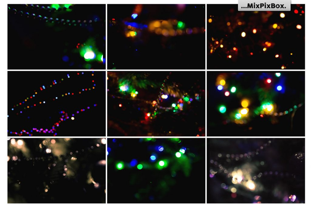 100 Colorful Bokeh Background Photo Overlays - 4 6 1024x681