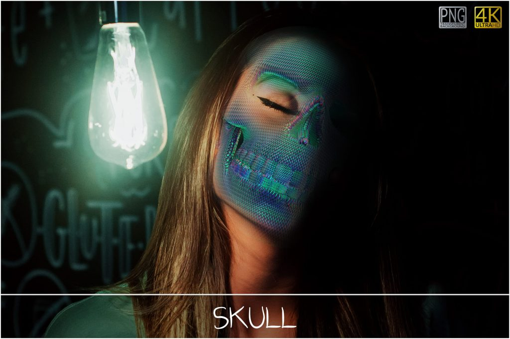 Skull PNG: Skull Textured Effect - 4 main 1024x681