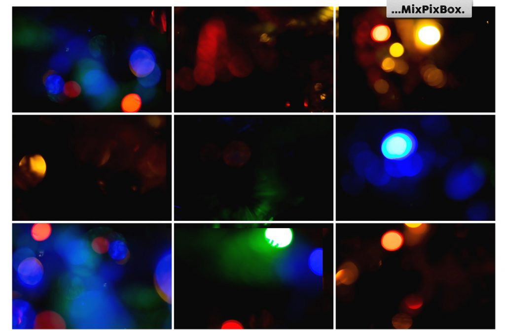 100 Colorful Bokeh Background Photo Overlays - 7 6 1024x681