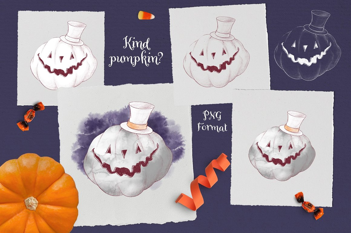Trick or Treat Clipart: 183 Halloween Clipart PNG - 9 2 3
