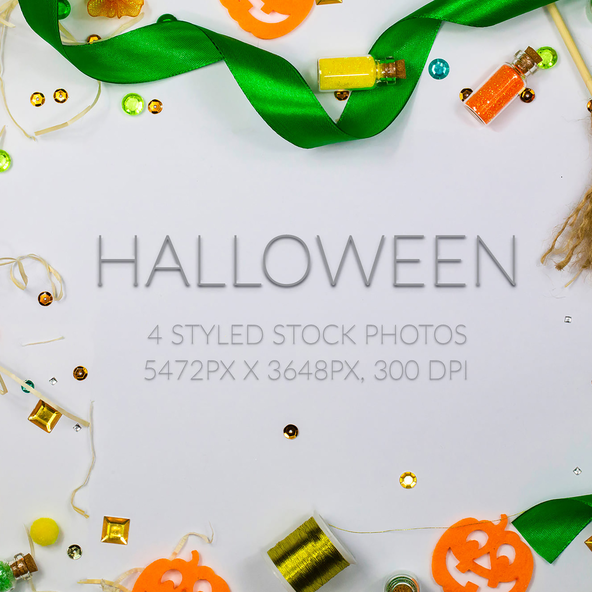 Multiple Exposure Photoshop Effect - Halloween Stock Photos