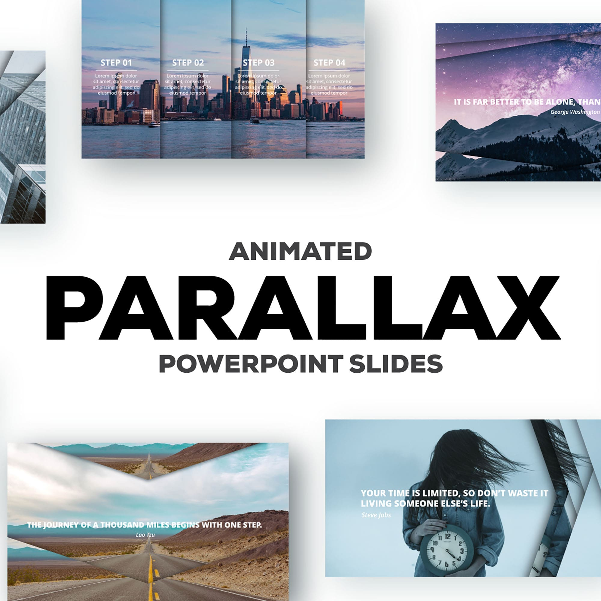 Parallax Powerpoint Theme