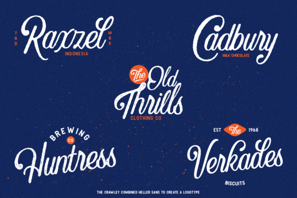 Crawley Textured Font Duo + Illustration - The Crawley Duo by Angin Studio 9 580x387
