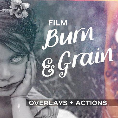 Duotone Bundle: 88 Photoshop Actions  - only $22 - film burn grain 0 1 1 490x490