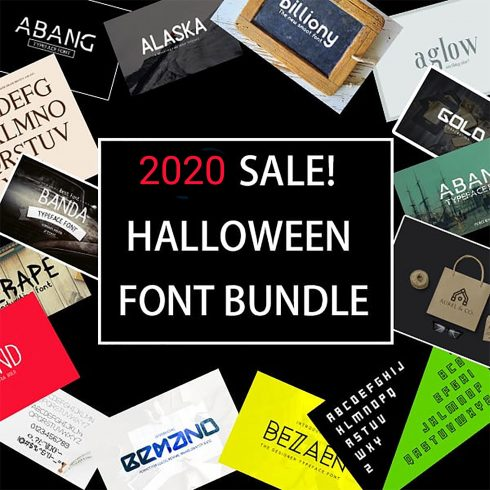 Halloween Embroidery Fonts