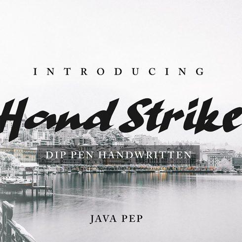 Handwritten Pen Font