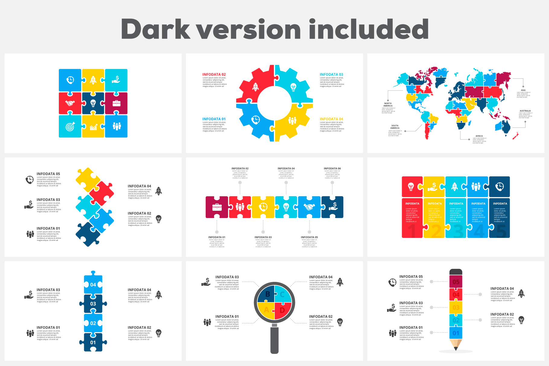 powerpoint puzzle template