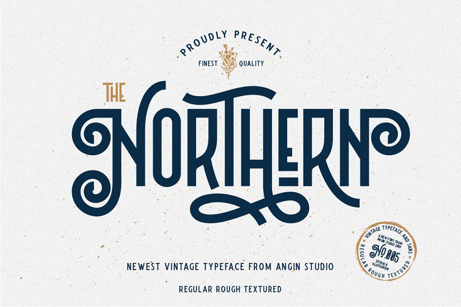 Northern Retro Future Font Bundle: 5 fonts with extras - 1 .png 1
