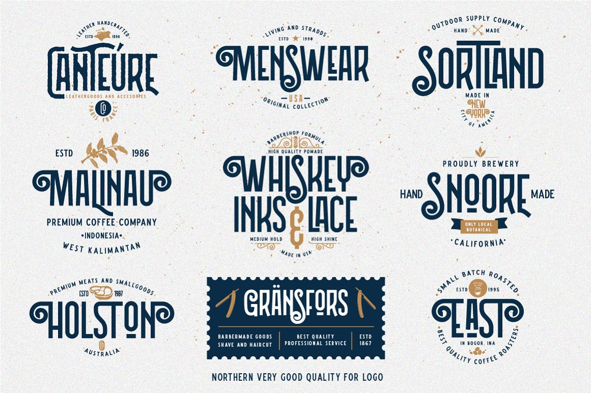 Northern Retro Future Font Bundle: 5 fonts with extras - 15 .png