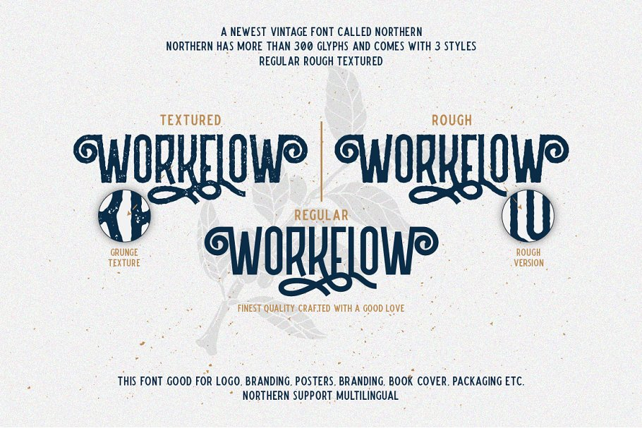 Northern Retro Future Font Bundle: 5 fonts with extras - 2 .png 1