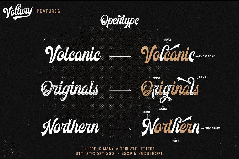 American Vintage Font