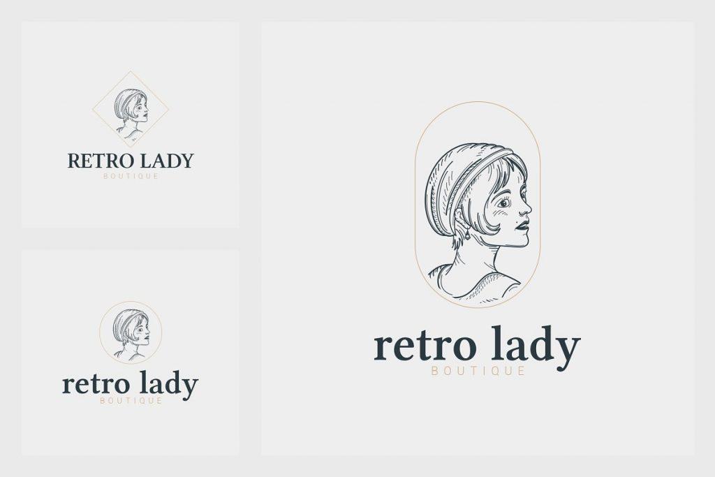 32 Art Deco Logo Templates - 7