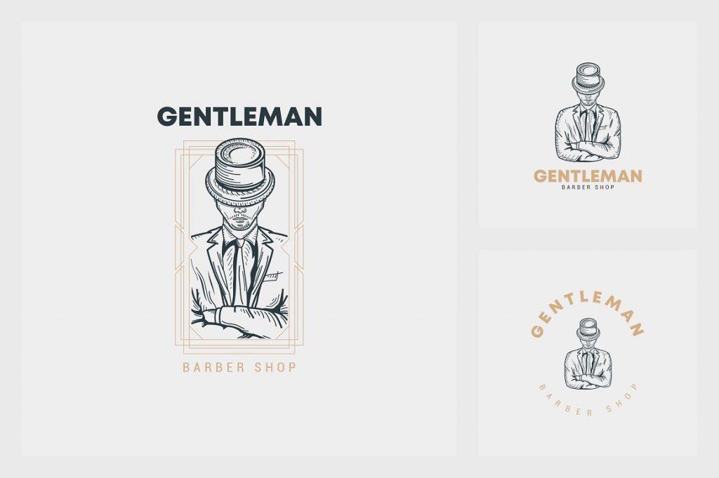 32 Art Deco Logo Templates - 9