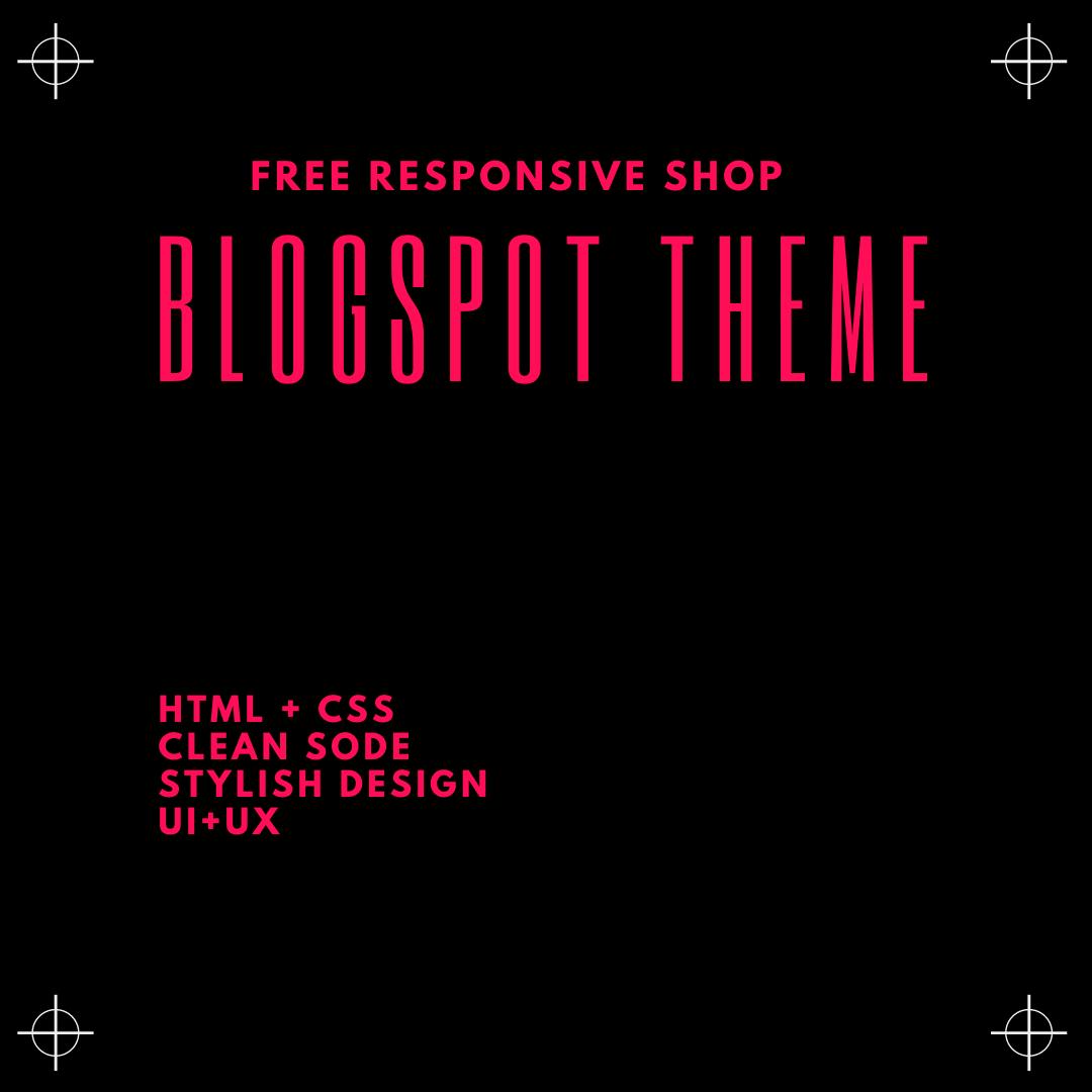 Blogspot Theme Responsive