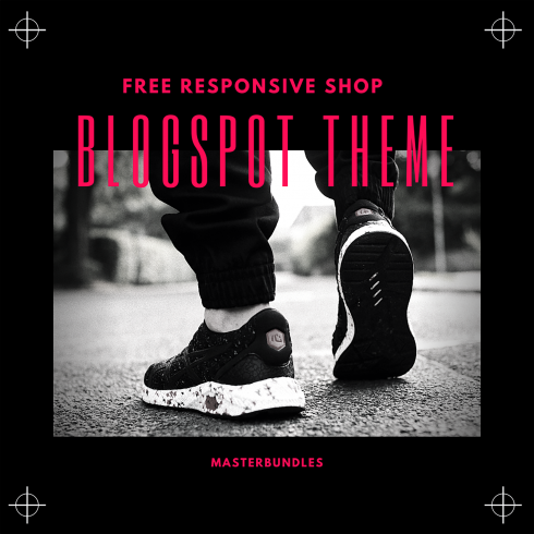 Template Blogger Online Shop Responsive