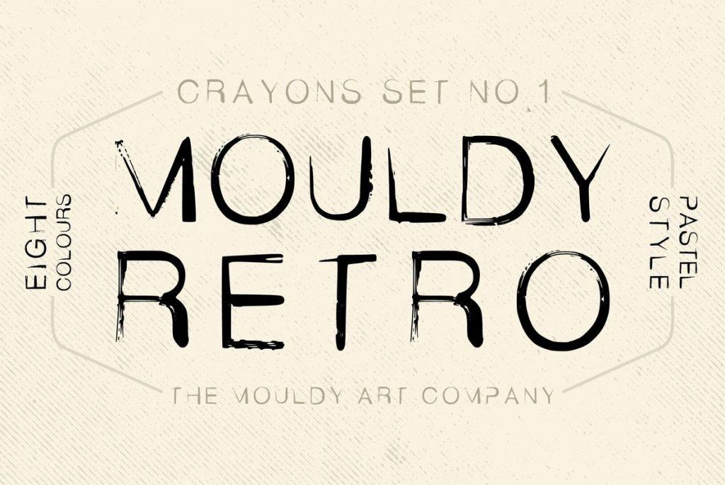 Mouldy Retro Disco Font - T8358 00
