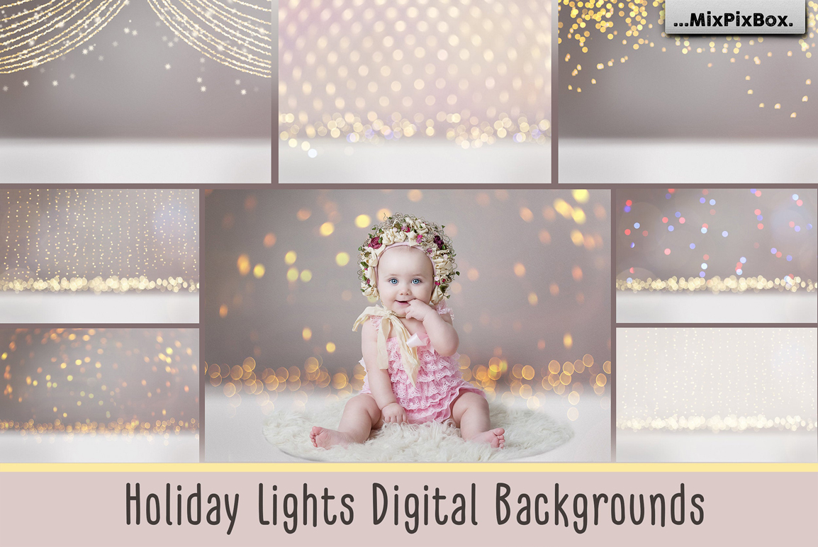 Holiday Lights Backgrounds