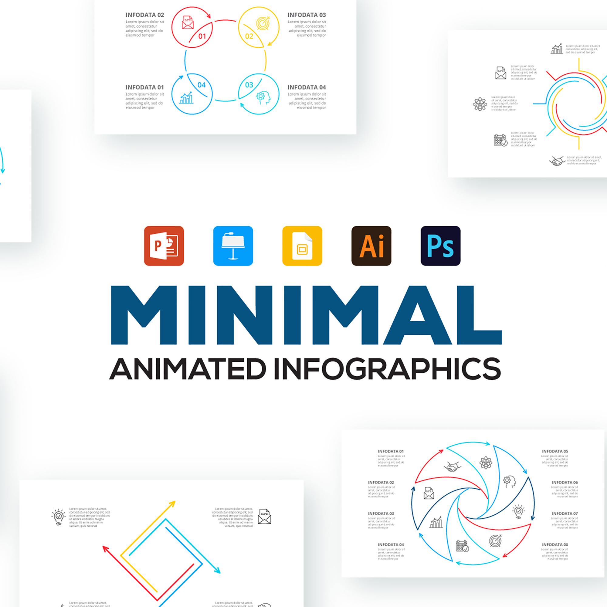 minimal infographics main image.
