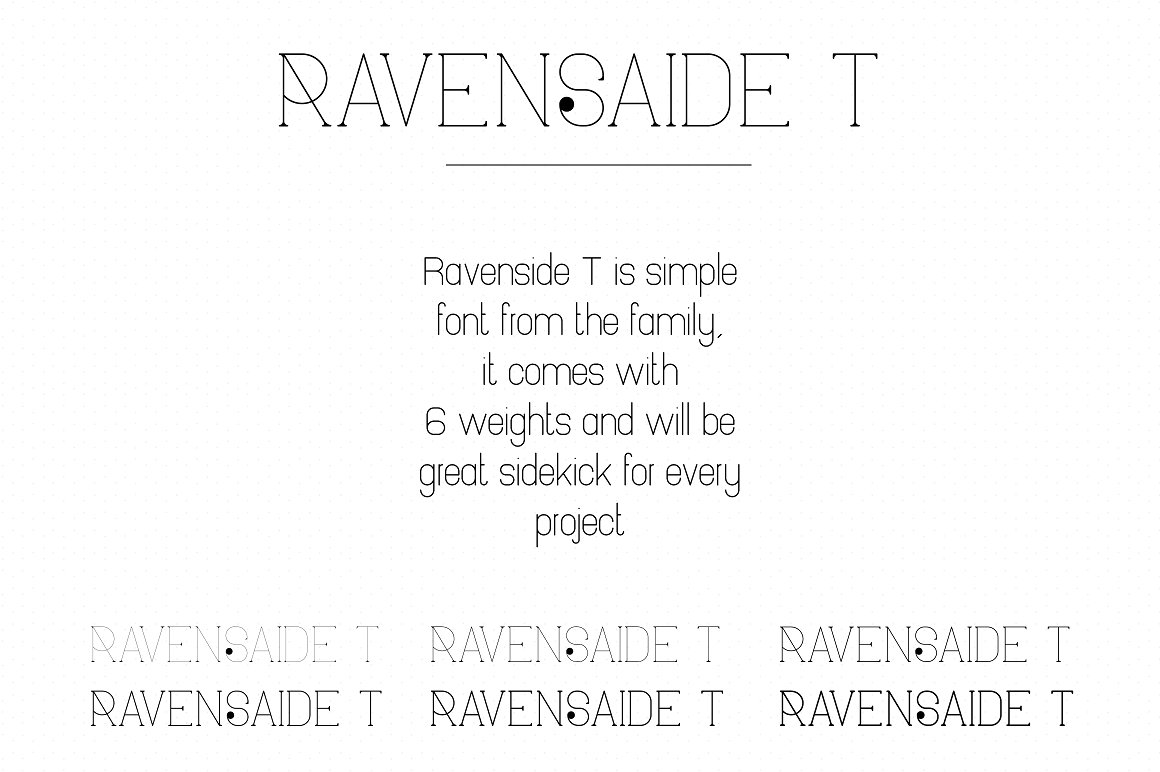 Ravenside Splatoon Font Family - 13 Fonts with 50% OFF - 11