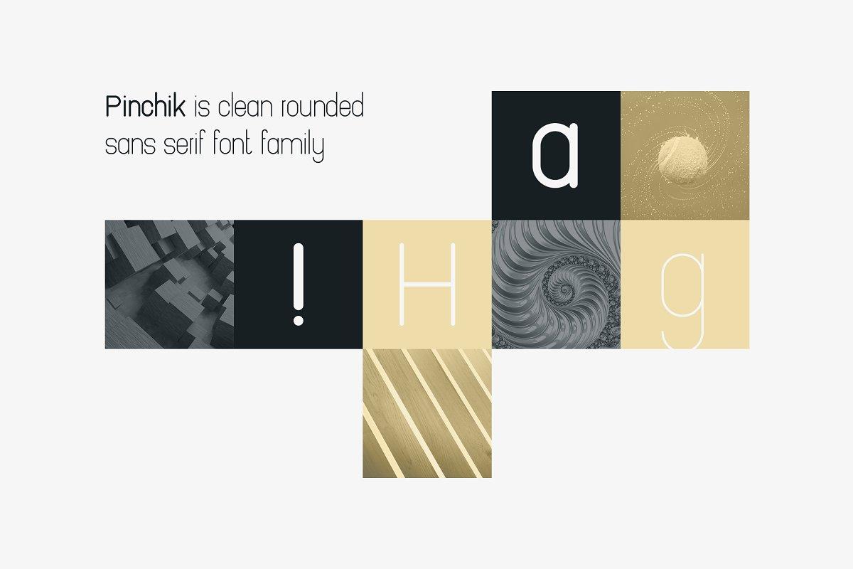 Pinchik Freight Sans Font Family (5 fonts) -70% - 3 1 1