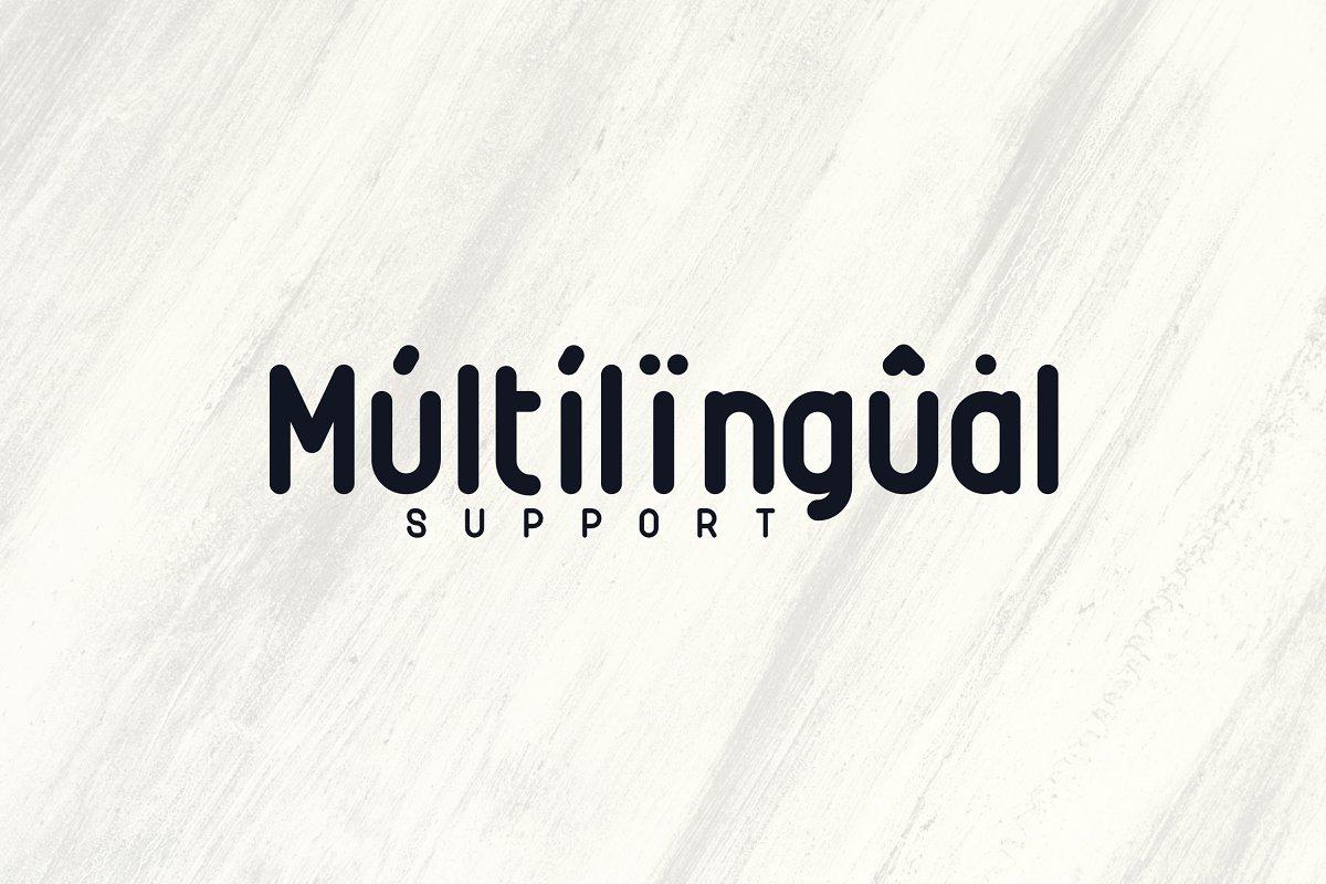Rimini Rounded Sans Serif font -50% - 8 1 2