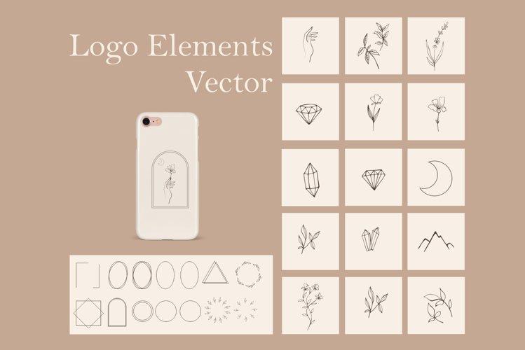 Floral Logo: Logo Maker with Floral Elements | SVG Frames - f71900a921a308f961c0d93fb4387075bb112845cfd8e27cdca9c7fc0867b686
