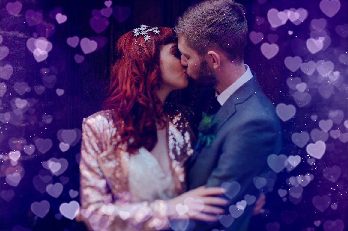 52 Heart Overlays: Romantic Heart Bokeh Photo Overlays - heart bokeh overlay actions 10