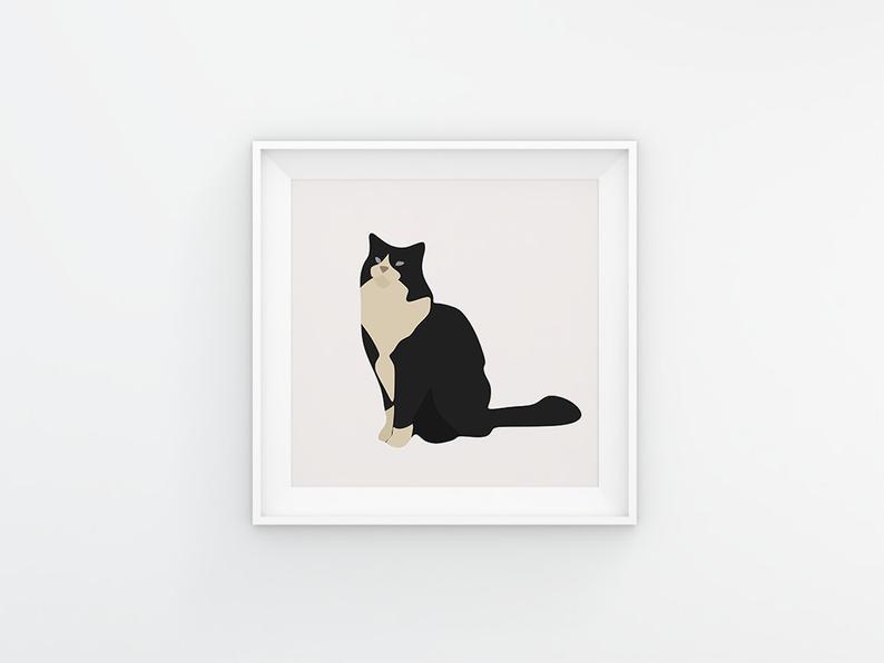 65 Cat Clipart Elements Digital PNG Vector - il 794xN.2608838892 82iw