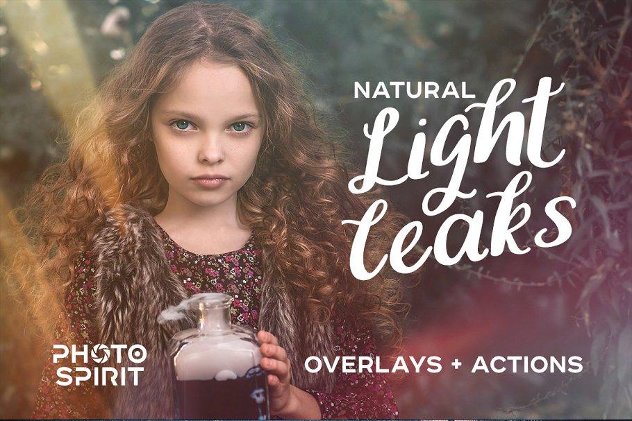 Light Leaks Overlays