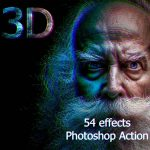3D Actions Photoshop