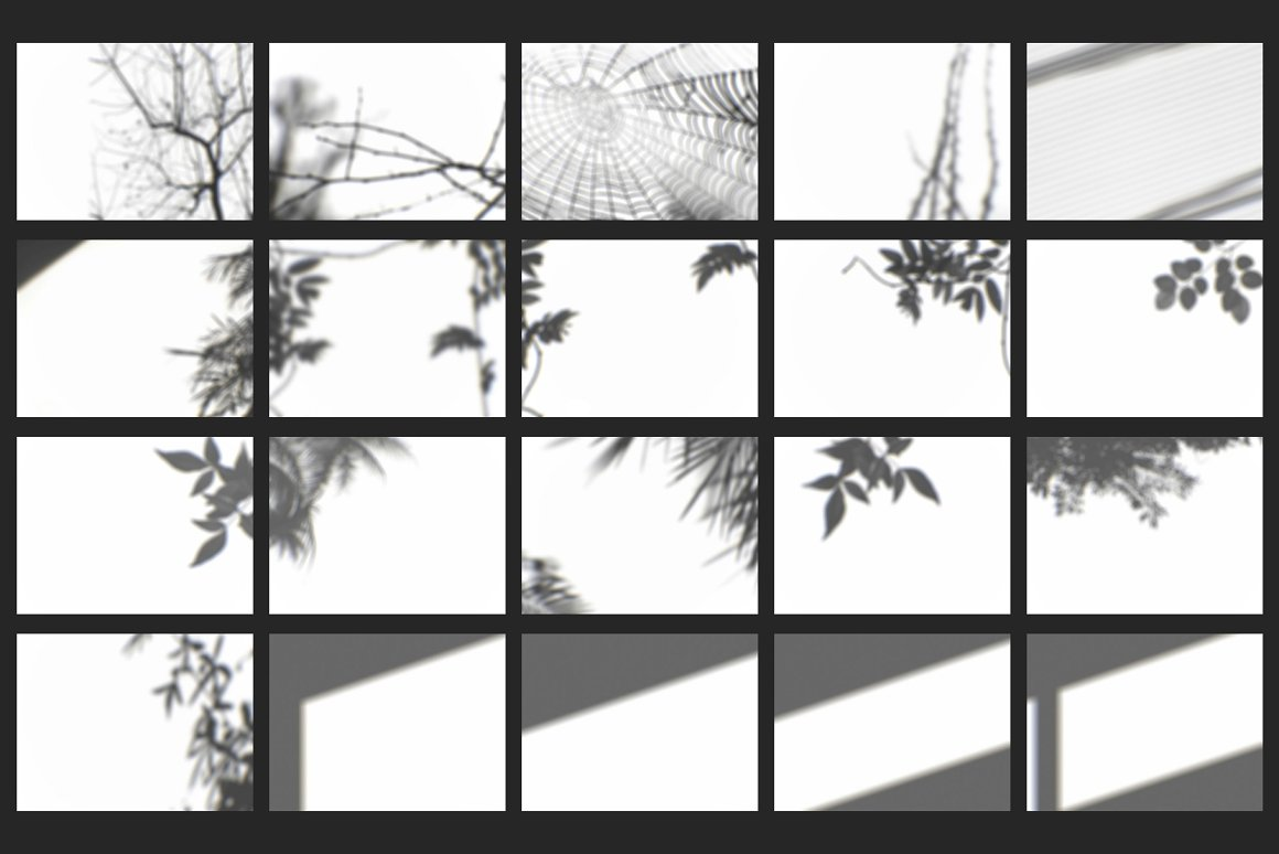 Shadow Overlays for Photoshop