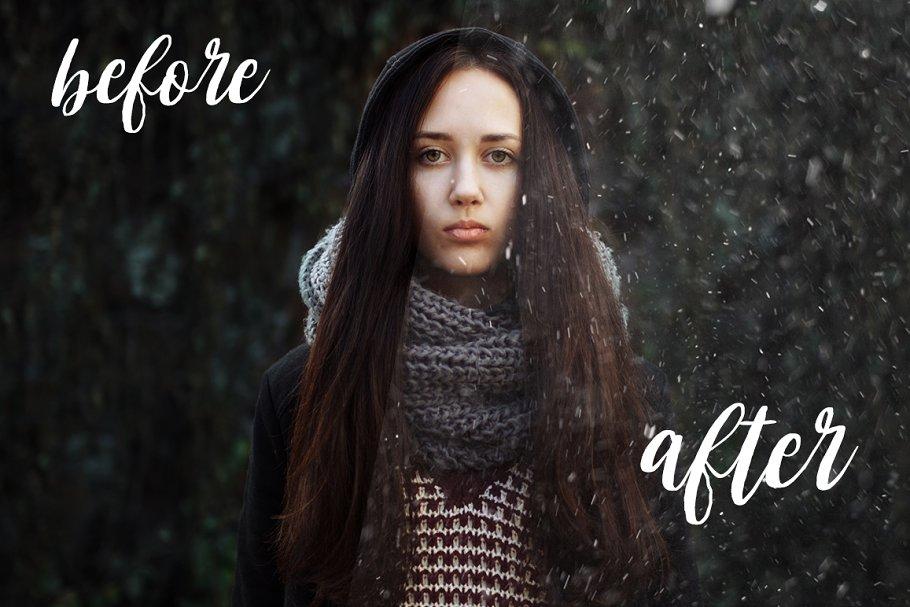 Snow Effect PNG & Dust Effect Photoshop - snow dust effect photoshop 3