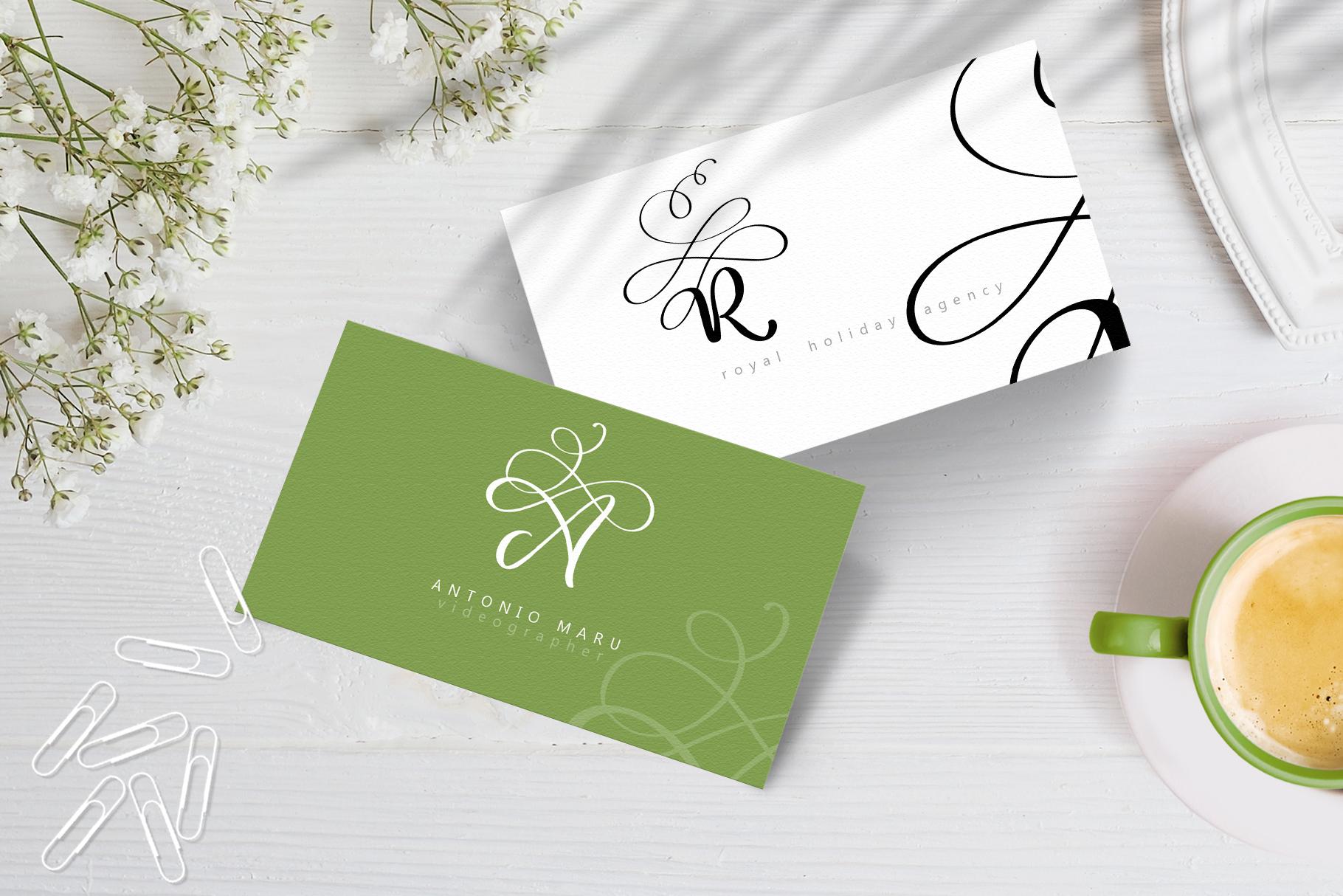 Love Letters Monogram Font - title10