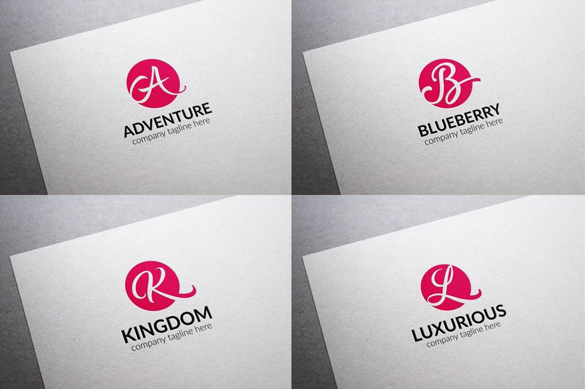 Initial letter logos