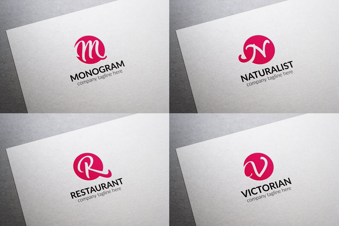 All Initial Letter Logos Bundle - untitled 03