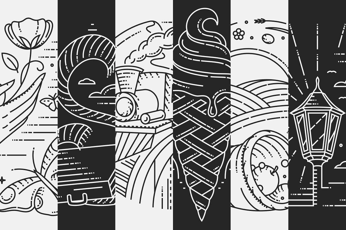 Rocking Logos Bundle: 3 fonts + 6 Logos - 10a